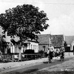 De Bovenweg nabij de Witte Kerk, ca. 1960.