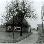 Boerderijtje van Quant aan de Achterweg, thans gemeente Alkmaar.
