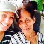 Ampy, meine Sitznachbarin von Dumaguete nach Iloilo