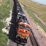 Kilometerlange Züge