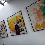 Burmesische Künstler im TS1 Project