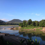 Aussicht auf den Mekong River
