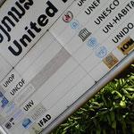 UN und Hilfswerke sind präsent