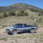 Thousand Lake Mountain - und Dodge Dakota