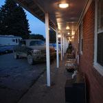 Dusk at Cedar Motel in Randolph
