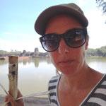 Mittagessen vor Angkor Wat - Sticky Rice mit Bohnen im Bambus gekocht
