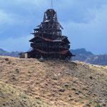 Crazy Mansion auf dem Weg zum Yellowstone