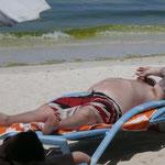 White Beach - nicht anders als in Malle