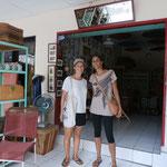 Zufällige Begegnung in Ubud mit ehemaliger Arbeitskollegin von McK!