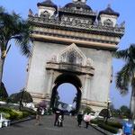 In der Hauptstadt Vientiane angekommen