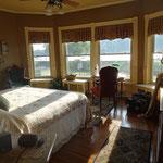 Mein Zimmer mit Aussicht auf den Sushquehanna River