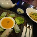 Leckeres Abendessen im Chamkra