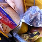 Znüni inklusive burmesische Petit Beurre