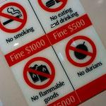 Durian-Verbot in der Metro