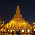 Wunderschöne Shwedagon Pagode