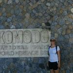 Auf Komodo Island - eines der 7 New World Wonders.