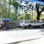 Leichenwagen am Strassenrand - kein Problem