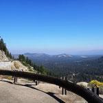 Letzter Blick auf Lake Tahoe
