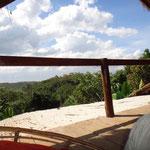 Entspannen vom anstrengenden Tag im Dschungel