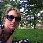 Lesepause auf dem Old Main Lawn der Penn State