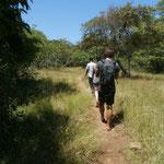 Auf der Suche nach den Komodo-Waranen mit den Spaniern