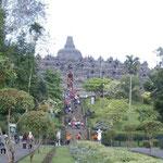 Der Tempel von Borobudur