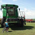 A darn big tractor - worth a few 100k