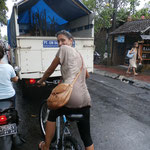 Radtour mit Isabelle bei Regen ohne Schutzblech...