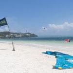 Der Strand für die Surfer - Bulabog Beach
