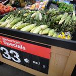 Sweet Corn ist überall erhältlich