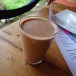 Schoko-Mandelmilch. Könnte mich nur davon ernähren...