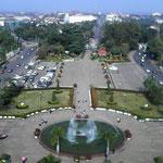 Aussicht über Vientiane