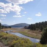 Schönes Stampede Reservoir