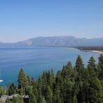 Blick auf South Lake Tahoe