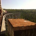 Überfahrt über das Gokteik Viadukt