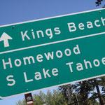 Kings Beach ist das heutige Ziel