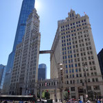 Wrigley Building at Chicago River