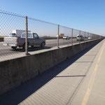 Bike path entlang der I-80 - entspannend