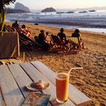 Warten auf den Sonnenuntergang in Corong Corong, El Nido