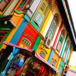 Farbenfrohes klein Indien