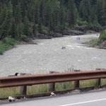 River Rafters auf dem Snake River