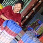 Von Hand gemachte Massagematten aus der Pampa von Thailand