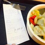 Typisch Philippinen: Hier hat sogar Chop Suey Fleisch drin