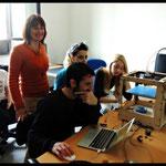 Valeri Atzori si è prodigata a coinvolgere gli studenti e documentare con video, immagini e web