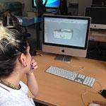 Si trasformano i file del disegno SketchUp in OBJ e STL per poterli stampare