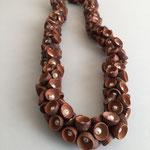 Fruchtbecher mit Perle, Länge ca 55cm