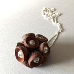 Fruchtbecher mit Perle