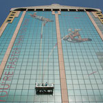 1200 vetri ricoperti con pellicola microforata, lavoro completato in 5 giorni lavorativi