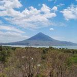Der wunderschön geformte und an den Fujisan erinnerenden Momotombo, Nicaragua