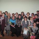 Сотрудники библиотек района. Деннь культуры 25 марта 2012 год